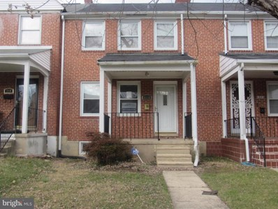 1318 Stonewood Road, Baltimore, MD 21239 - #: MDBA494448