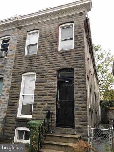234 S Stricker Street, Baltimore, MD 21223 - MLS#: MDBA494452