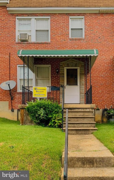 4316 Seidel Avenue, Baltimore, MD 21206 - #: MDBA494528