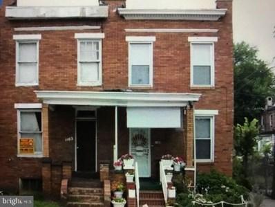1103 N Luzerne Avenue, Baltimore, MD 21213 - #: MDBA494796