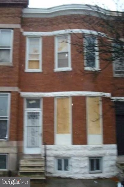 1937 W Mulberry Street, Baltimore, MD 21223 - #: MDBA494958