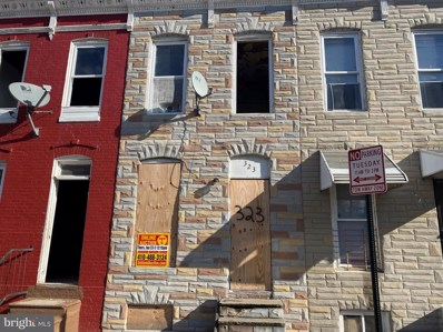 323 Furrow Street, Baltimore, MD 21223 - #: MDBA495062