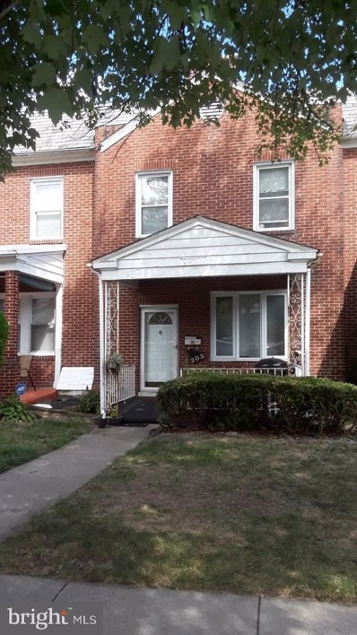 203 Allendale Street, Baltimore, MD 21229 - #: MDBA495154