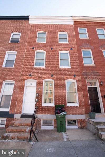 1305 W Lombard Street, Baltimore, MD 21223 - #: MDBA495266