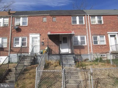 3020 Grantley Avenue, Baltimore, MD 21215 - #: MDBA495380
