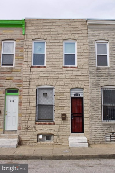 714 N Port Street, Baltimore, MD 21205 - #: MDBA495486