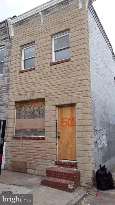501 N Belnord Avenue, Baltimore, MD 21205 - #: MDBA495560