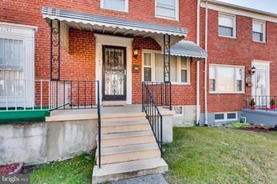 1145 Sherwood Avenue, Baltimore, MD 21239 - #: MDBA495638