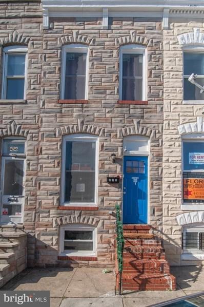 438 N Rose Street, Baltimore, MD 21224 - MLS#: MDBA495668