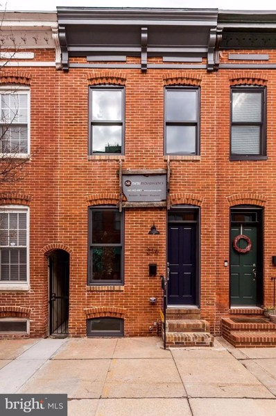 216 E Barney Street, Baltimore, MD 21230 - #: MDBA495798