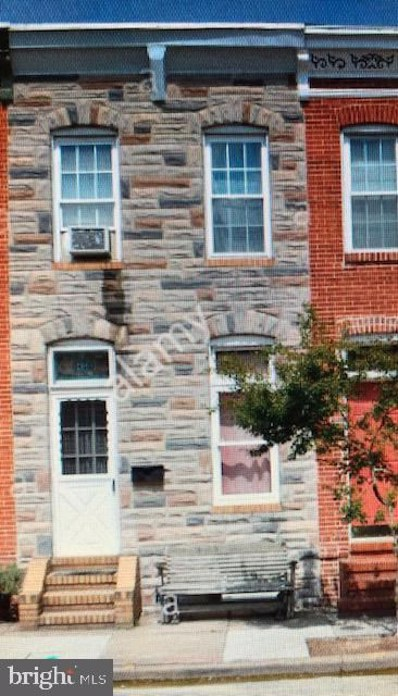 347 S Monroe Street, Baltimore, MD 21223 - #: MDBA495914