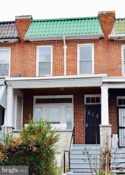 1622 Poplar Grove Street, Baltimore, MD 21216 - #: MDBA496048