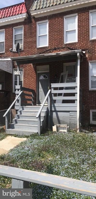 3704 Arcadia Avenue, Baltimore, MD 21215 - #: MDBA496172