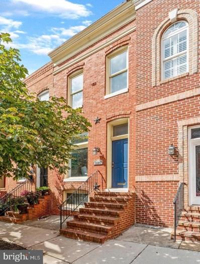 3524 Elliott Street, Baltimore, MD 21224 - #: MDBA496240