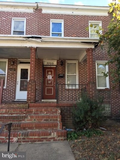3305 Ravenwood Avenue, Baltimore, MD 21213 - #: MDBA496272
