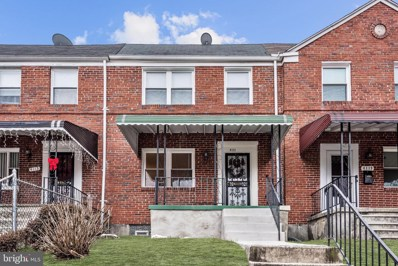 4117 Mountwood Road, Baltimore, MD 21229 - #: MDBA496400