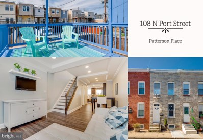 108 N Port Street, Baltimore, MD 21224 - #: MDBA496420