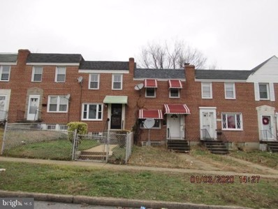 4378 Parkton Street, Baltimore, MD 21229 - #: MDBA496520