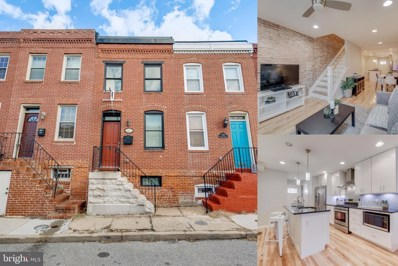 1607 Marshall Street, Baltimore, MD 21230 - #: MDBA496524