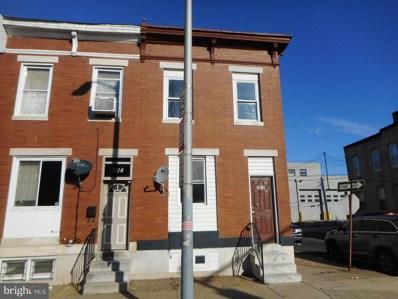 3116 E Monument Street, Baltimore, MD 21205 - #: MDBA496936