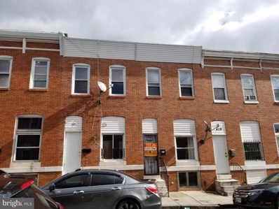 421 N Curley Street, Baltimore, MD 21224 - #: MDBA497250
