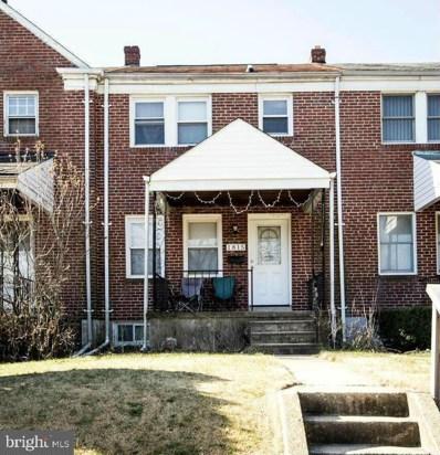 1815 E Belvedere Avenue, Baltimore, MD 21239 - #: MDBA497258