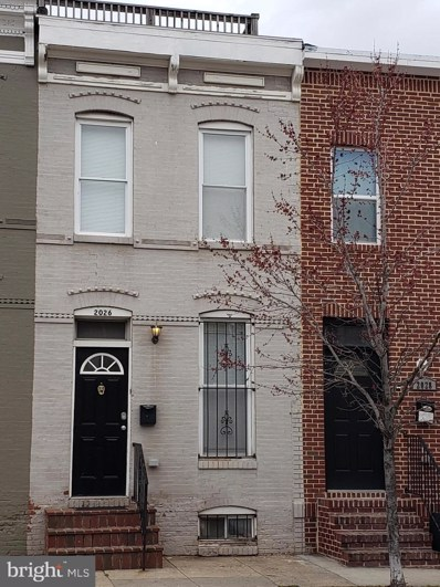 2026 Jefferson Street, Baltimore, MD 21205 - #: MDBA497268