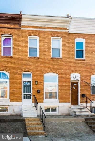 639 S Macon Street, Baltimore, MD 21224 - #: MDBA497358