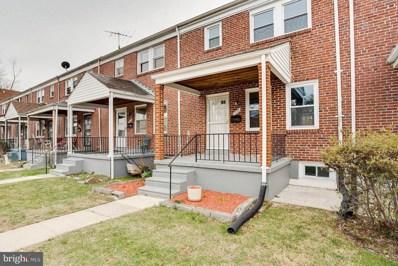 1805 E Belvedere Avenue, Baltimore, MD 21239 - #: MDBA497556