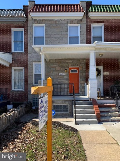 4436 Saint Georges Avenue, Baltimore, MD 21212 - #: MDBA497762