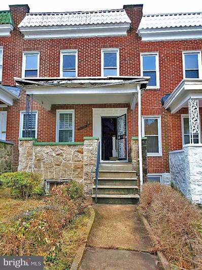 3120 Oakfield Avenue, Baltimore, MD 21216 - #: MDBA498058