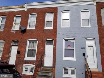 2234 Booth Street, Baltimore, MD 21223 - #: MDBA498464