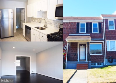 1206 Delbert Avenue, Baltimore, MD 21222 - #: MDBA498482