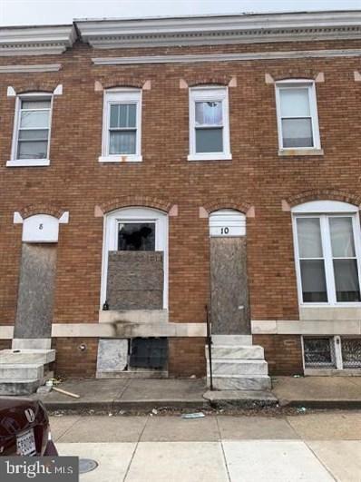 10 N Bentalou Street, Baltimore, MD 21223 - #: MDBA499512