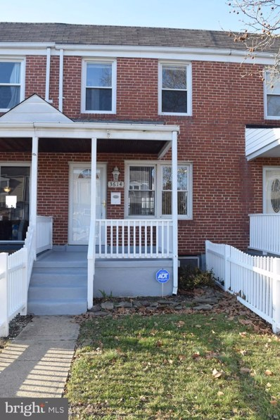 3614 Clarenell Road, Baltimore, MD 21229 - #: MDBA499730