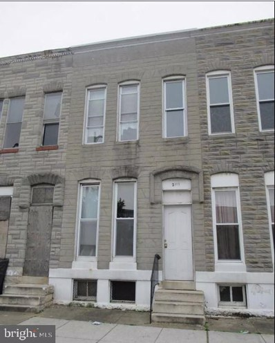 2111 Wilkens Avenue, Baltimore, MD 21223 - #: MDBA499942