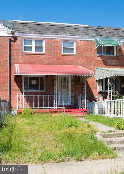 5719 Denwood Avenue, Baltimore, MD 21206 - #: MDBA500366
