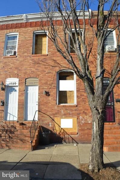 1718 Cole Street, Baltimore, MD 21223 - #: MDBA500486