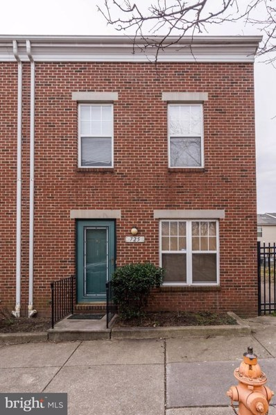 725 West Cherry Blossom Way, Baltimore, MD 21201 - #: MDBA500622