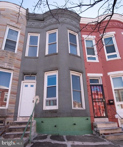 519 E 23RD Street, Baltimore, MD 21218 - #: MDBA500792