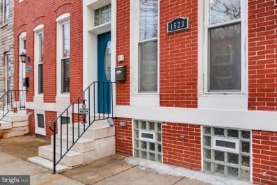 1523 N Eden Street, Baltimore, MD 21213 - #: MDBA501208