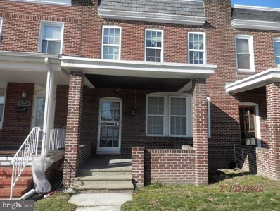 3406 Wilkens Avenue, Baltimore, MD 21229 - #: MDBA501246