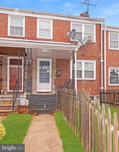 4208 Doris Avenue, Baltimore, MD 21225 - #: MDBA501338