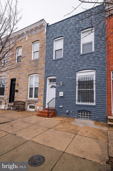 222 N Collington Avenue, Baltimore, MD 21231 - #: MDBA501424