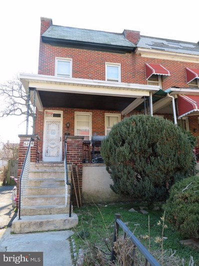 5256 Cordelia Avenue, Baltimore, MD 21215 - #: MDBA501472