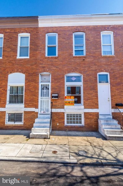 611 N Curley Street, Baltimore, MD 21205 - #: MDBA501536