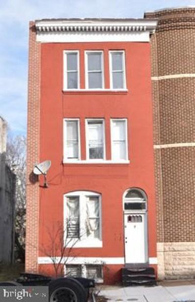 1214 W Lanvale Street, Baltimore, MD 21217 - #: MDBA501600