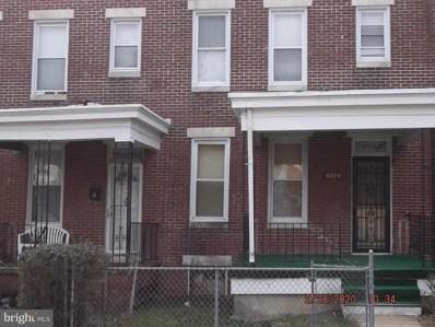 4019 W Franklin Street W, Baltimore, MD 21229 - #: MDBA501682
