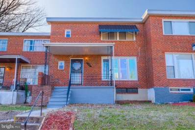 3806 Derby Manor Drive, Baltimore, MD 21215 - #: MDBA501696