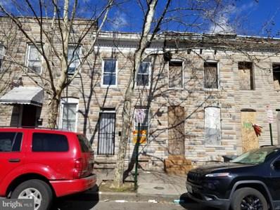 1812 Ramsay Street, Baltimore, MD 21223 - #: MDBA501758